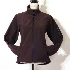 Black Diamond soft shell jacket.